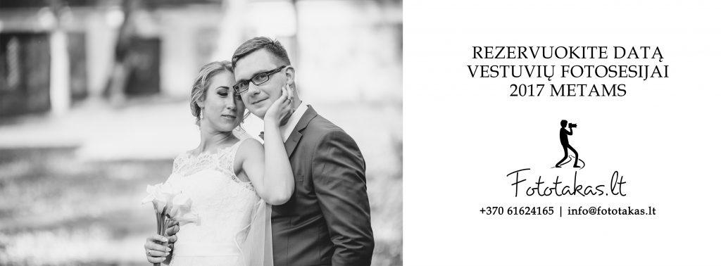 Vestuvių fotografai 2017